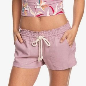 Roxy Oceanside Linen Beach Shorts